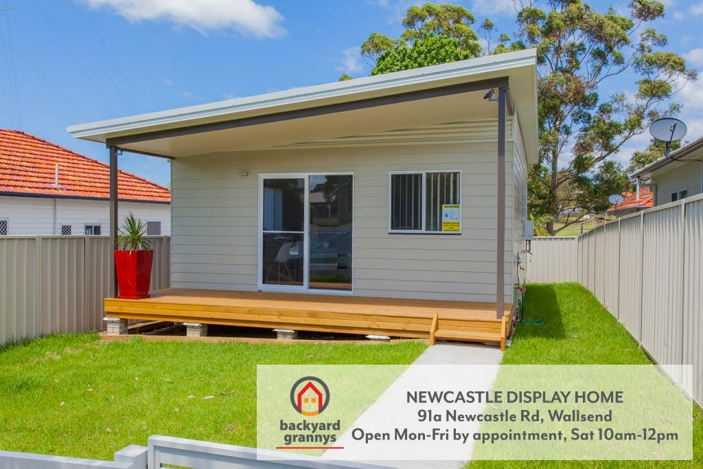 Visit our furnished newcastle granny flat display home for Newcastle home