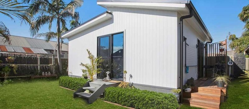 Mayfield backyard granny flat exterior